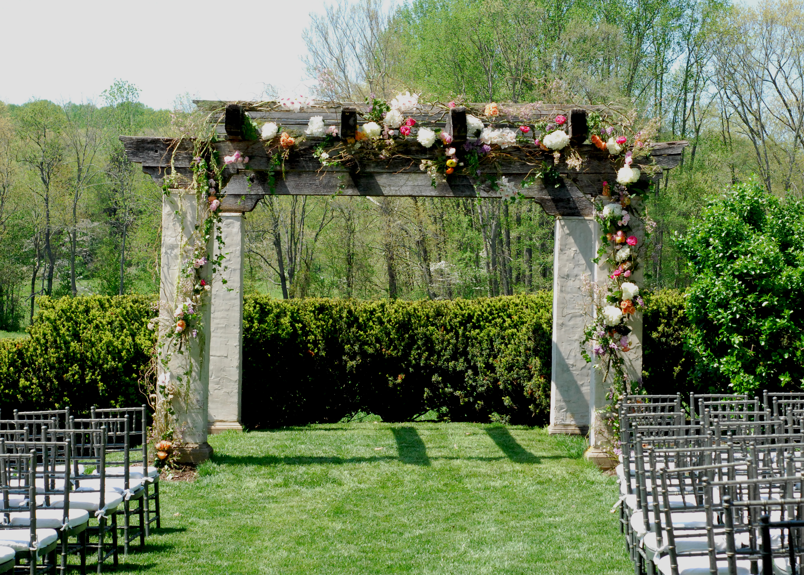 Gorgeous Garden Wedding in Monkton The Floral Studio in Baltimore